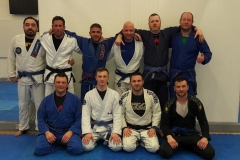 Group Photo after the Intermediate/Advanced Class at BJJ School Belfast
